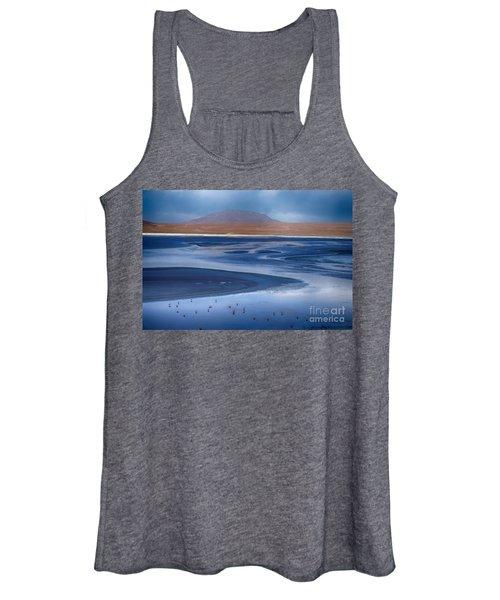 Laguna Colorada - Night Blue Women's Tank Top