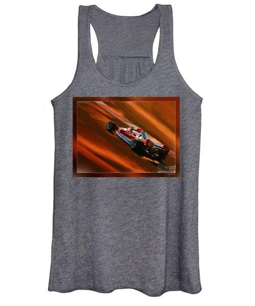 Niki Lauda's Ferrari Women's Tank Top