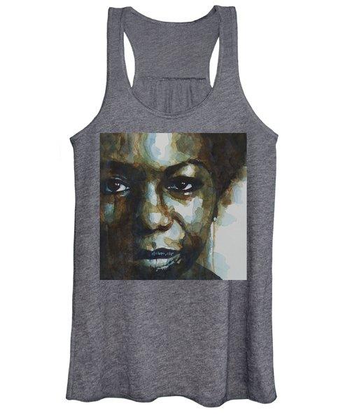 Nina Simone Ain't Got No Women's Tank Top