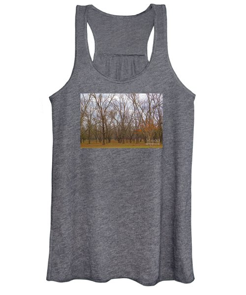 North Florida Orchard In Fall Women's Tank Top