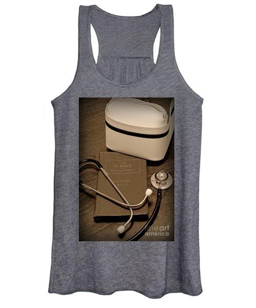 Nurse - The Care Giver Women's Tank Top