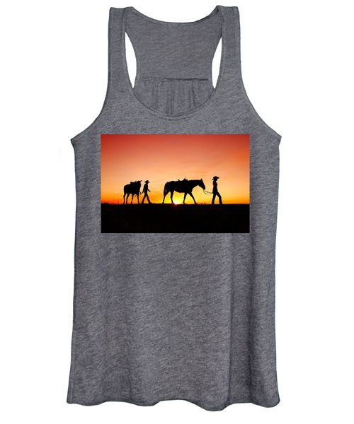 Off To The Barn Women's Tank Top