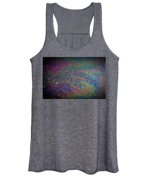 Oil Rainbow Women's Tank Top