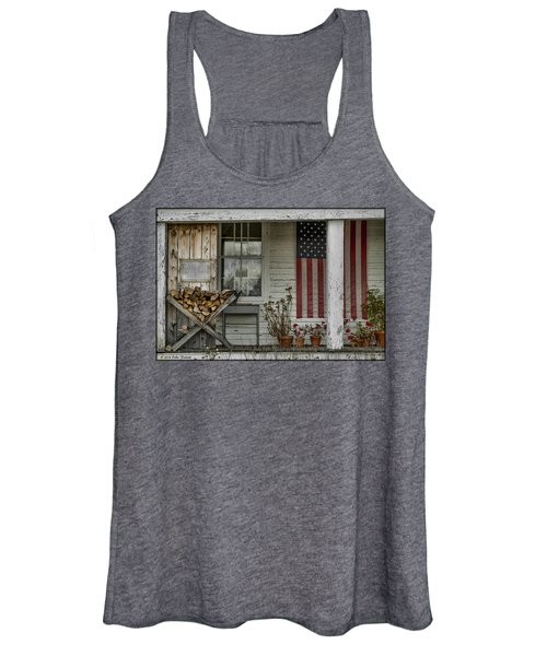 Old Apple Orchard Porch Women's Tank Top