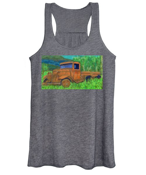 Old Canadian Truck Women's Tank Top