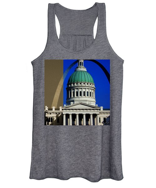 Old Courthouse Dome Arch Women's Tank Top