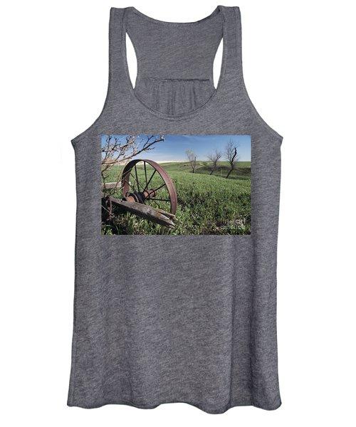 Old Farm Wagon Women's Tank Top