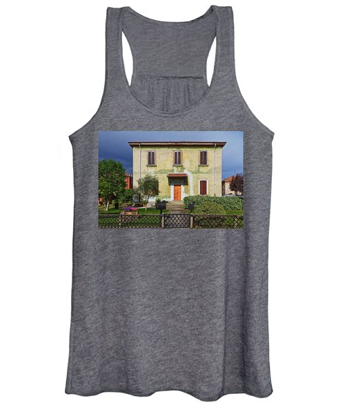 Old House In Crespi D'adda Women's Tank Top