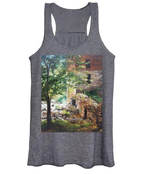 Old Mill Stream I Women's Tank Top