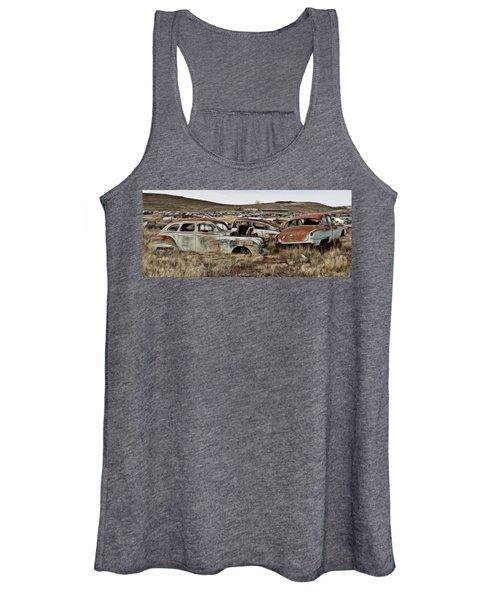 Old Wrecks Women's Tank Top