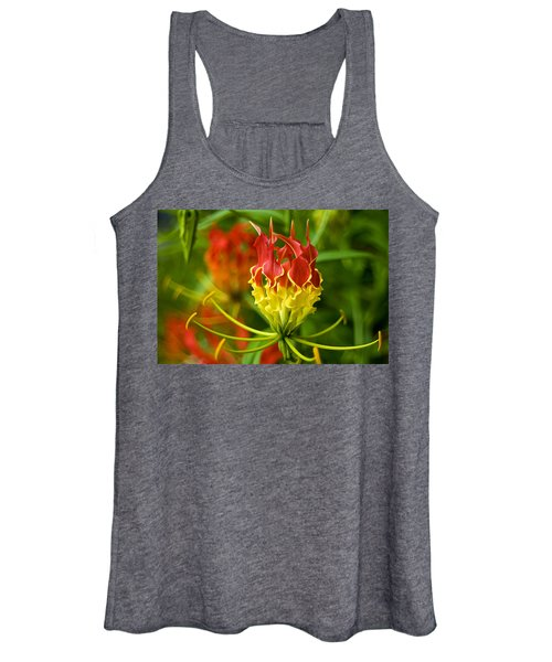 On The Porch At Hawkins House Women's Tank Top