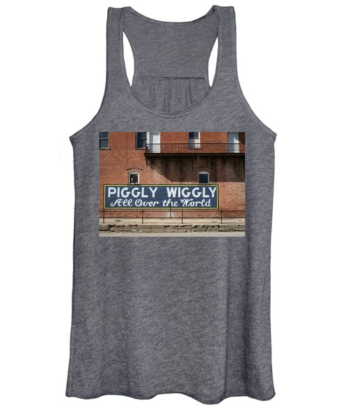 One Famous Pig Women's Tank Top