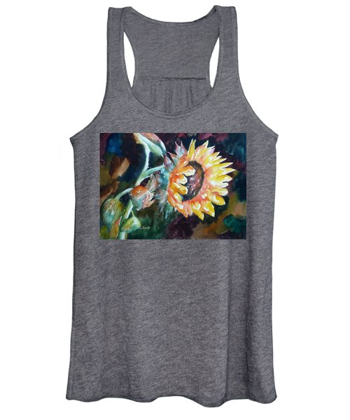One Sunflower Women's Tank Top