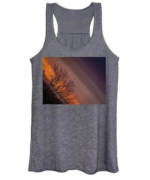 Orange Sunrise Women's Tank Top