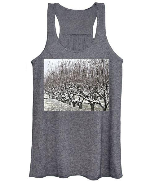 Orchard In Winter Women's Tank Top