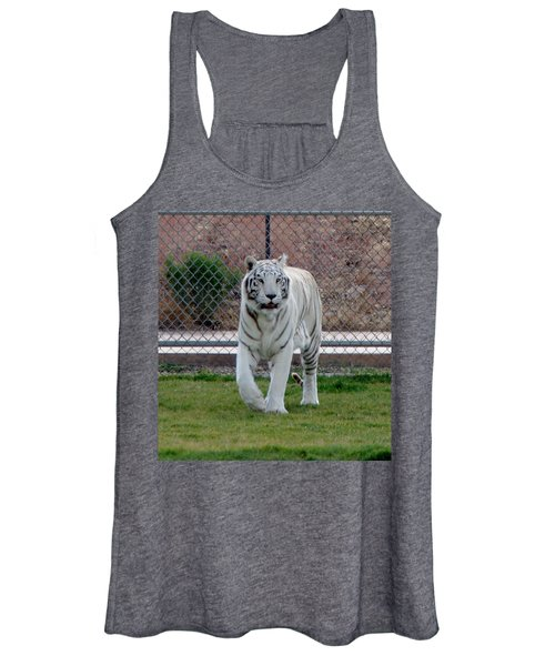 Out Of Africa White Tiger Women's Tank Top