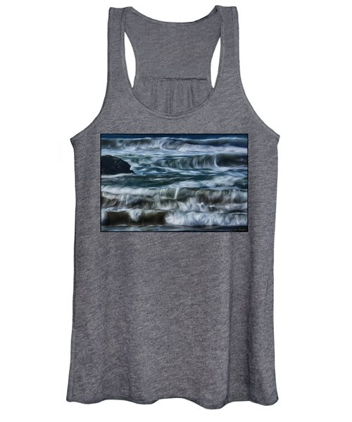 Pacific Waves Women's Tank Top