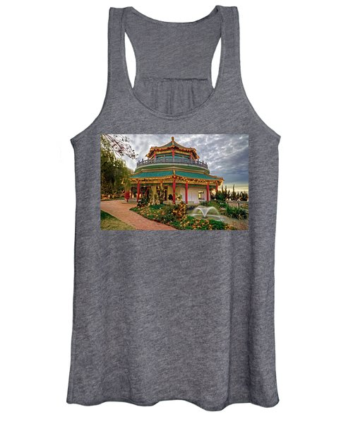 Pagoda In Norfolk Virginia Women's Tank Top