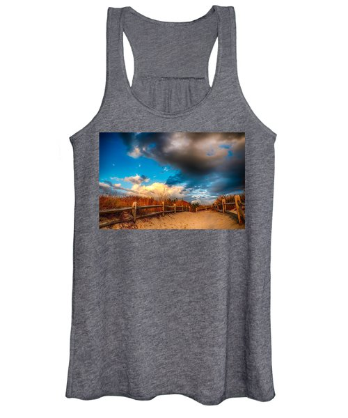 Painted Women's Tank Top