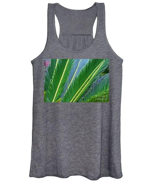 Palm Cycas Fronds Women's Tank Top