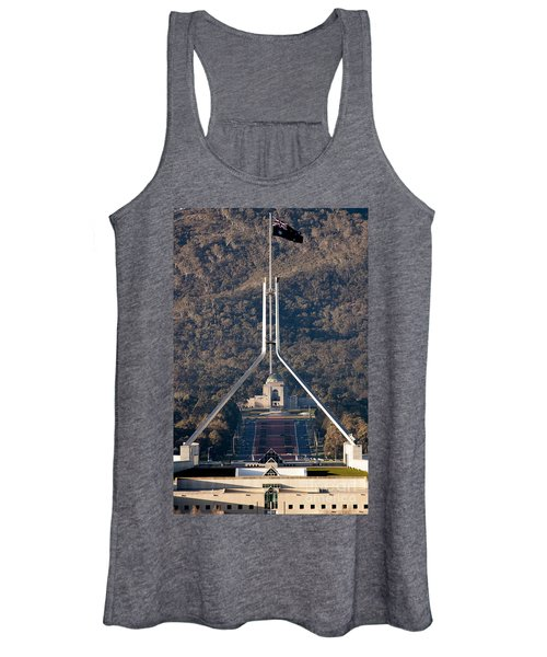 Parliament And War Memorial Australia Women's Tank Top