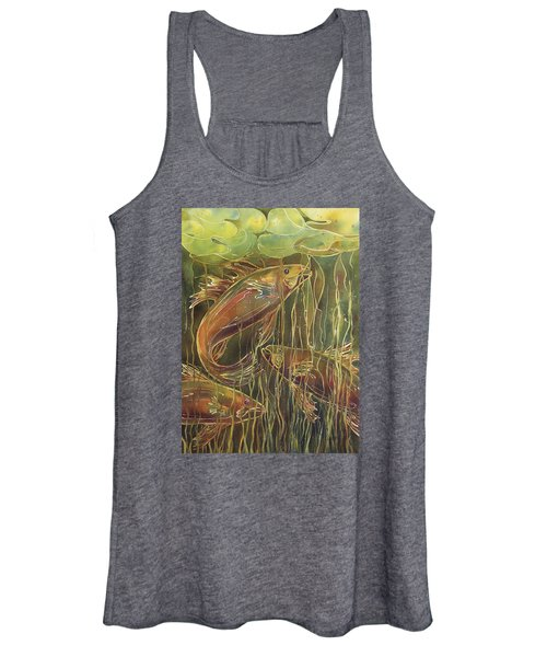 Party Under The Lily Pads II Women's Tank Top