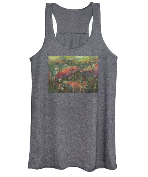 Party Under The Lily Pads Women's Tank Top
