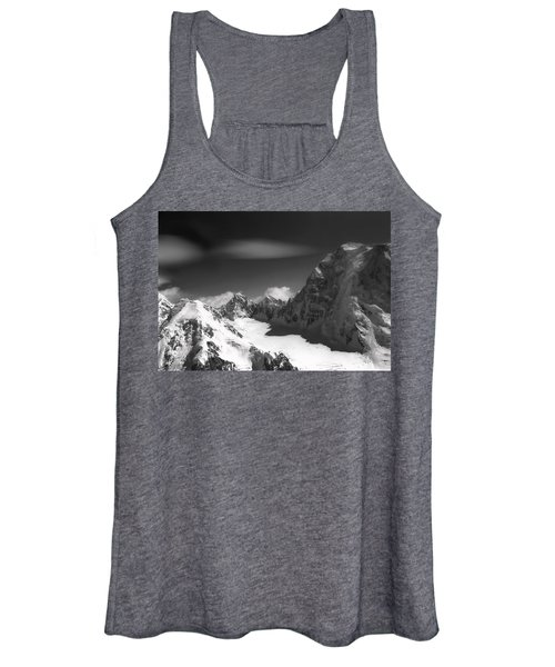 Passing By Snow Capped Mountains Women's Tank Top
