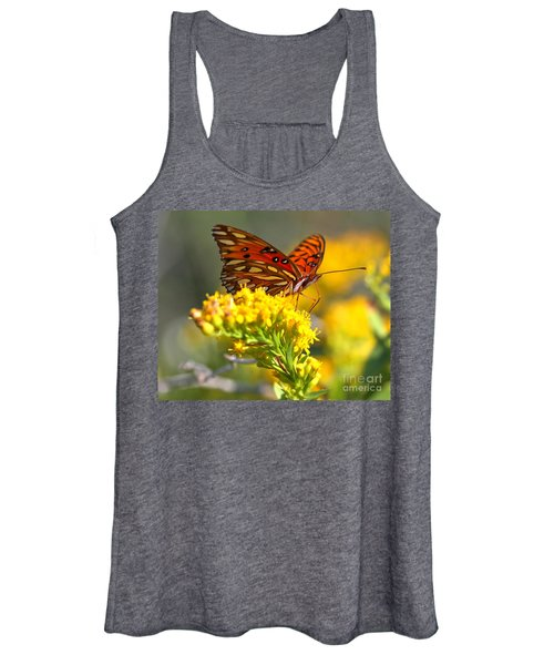 Pea Island Butterfly Women's Tank Top