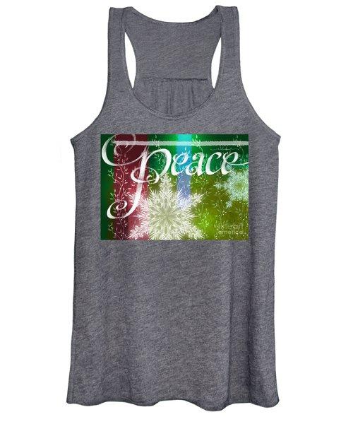 Peace Greeting Women's Tank Top