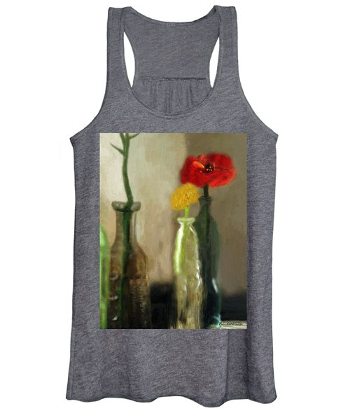 Peggy's Flowers Women's Tank Top
