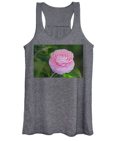 Perfection With Message Women's Tank Top