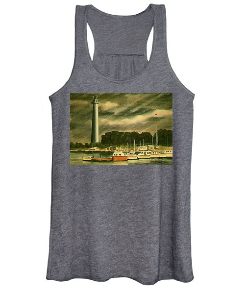 Perrys Monument On Put In Bay Women's Tank Top