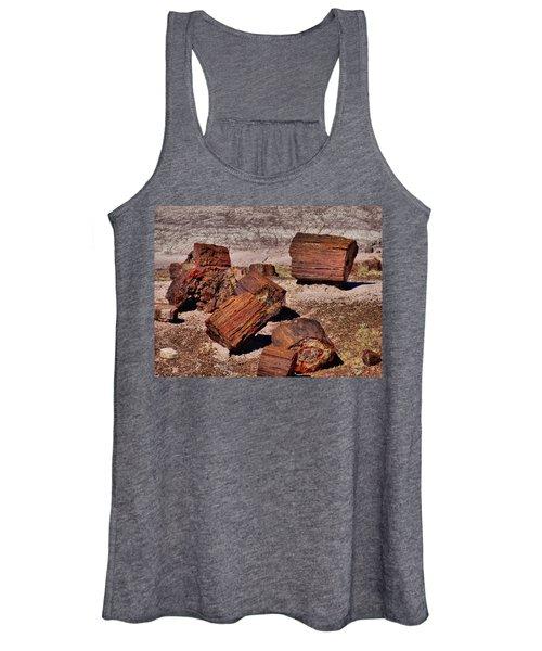 Petrified Wood Women's Tank Top