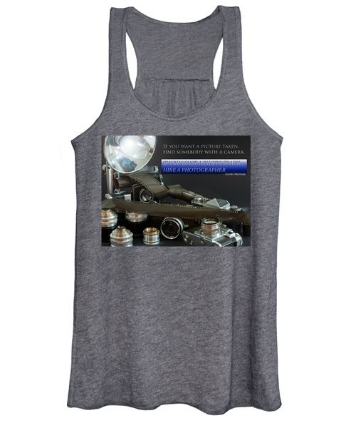 Photographer Quote Women's Tank Top