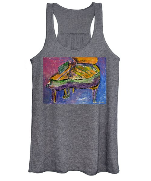 Piano Purple Women's Tank Top