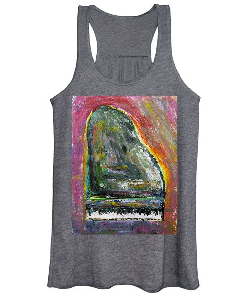 Piano Red Women's Tank Top