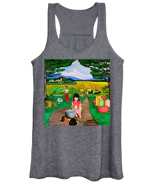Picnic With The Farmers Women's Tank Top