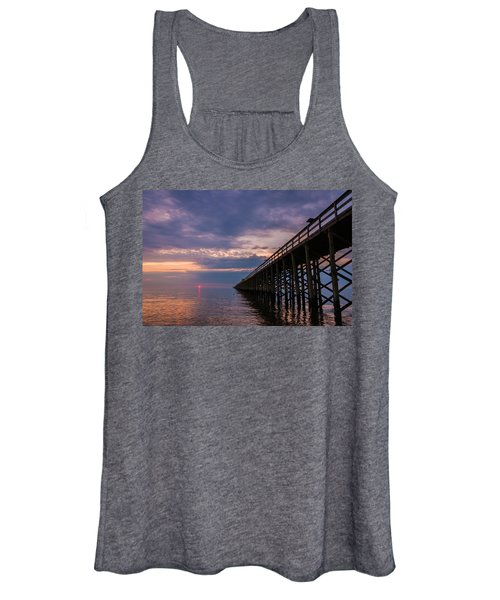Pier To The Horizon Women's Tank Top
