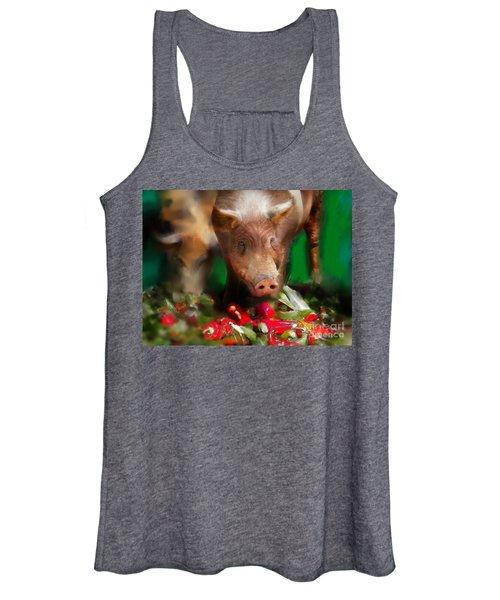 Pigs Women's Tank Top