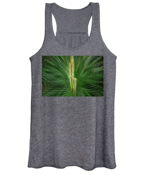 Pine Cone And Needles Women's Tank Top