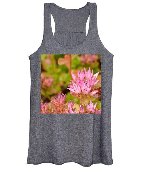 Pink Flower Women's Tank Top