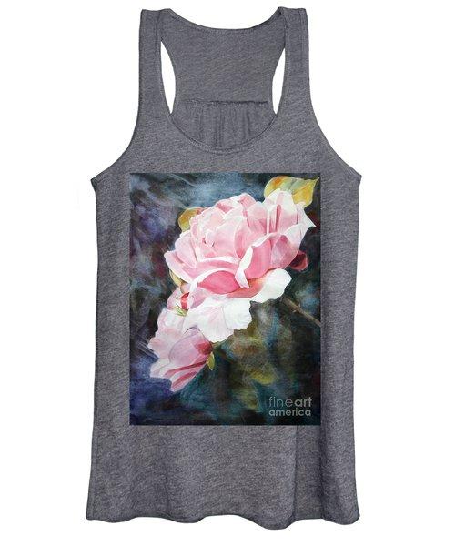 Pink Rose Caroline Women's Tank Top