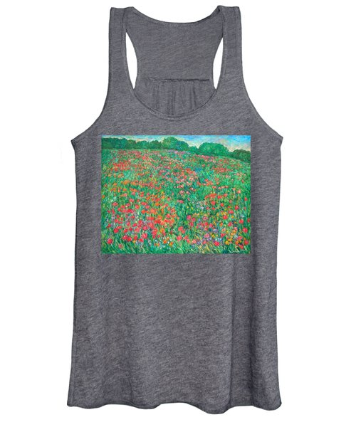 Poppy View Women's Tank Top