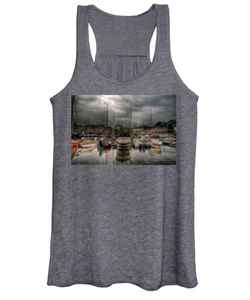 Port At Como Lake Women's Tank Top