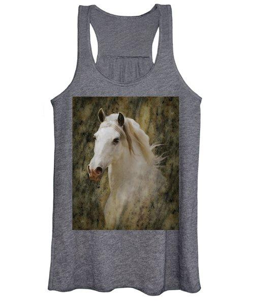 Portrait Of A Horse God Women's Tank Top