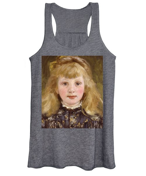 Portrait Of A Young Girl Women's Tank Top