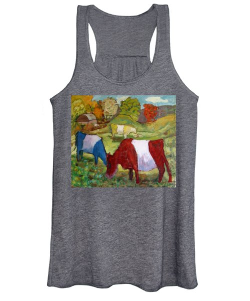Primary Cows Women's Tank Top