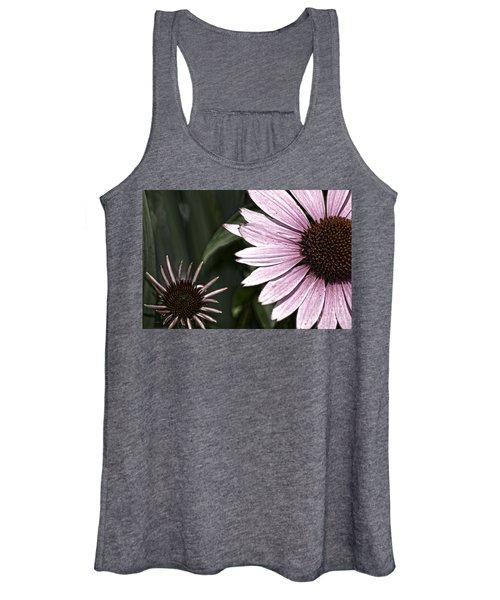 Purple Coneflower Imperfection Women's Tank Top
