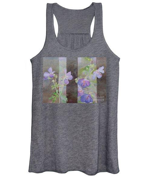 Purple Ivy Geranium Women's Tank Top